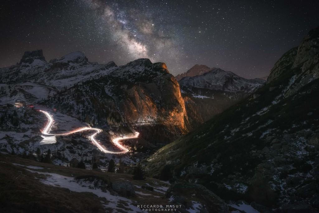 """A Dolomitic night"" – Riccardo Masut"