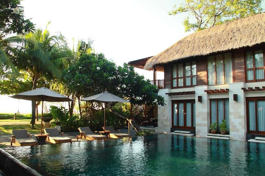 Cheap hostels in Bali for backpackers The Sandi Phala