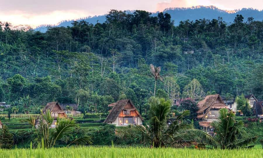 Hotels in Bali that are worth paying Village Above The Clouds quieter areas to stay in Bali