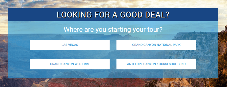 Papillon Website Grand Canyon Helicopter tour promotions and deals