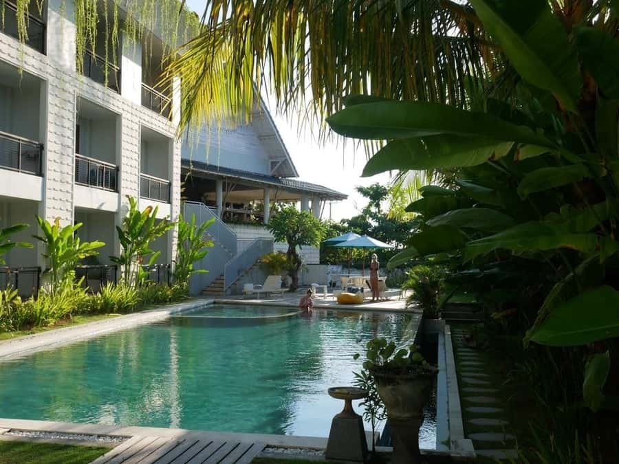 Hotel in the middle of the jungle in Bali area with more options to stay in Bali