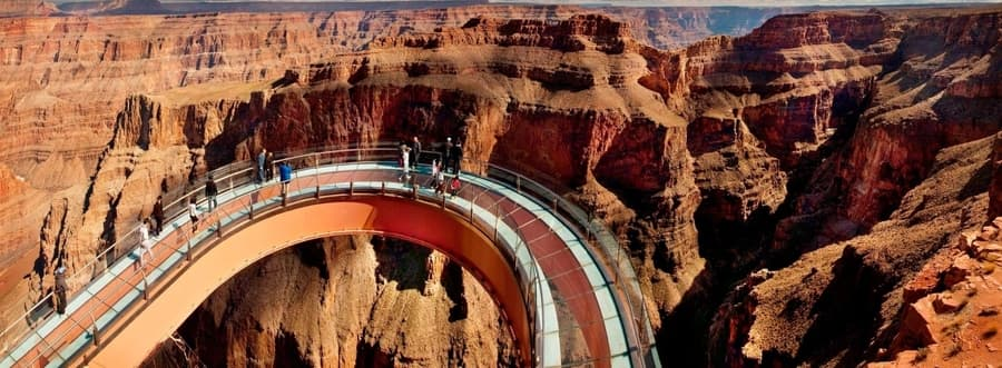Skywalk and helicopter tour grand canyon