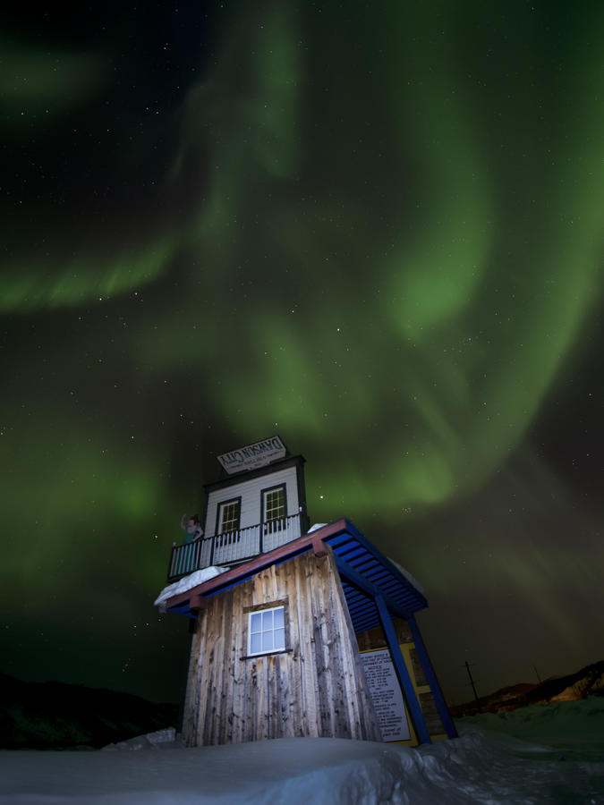 best places to see ther northern lights in yellowknife