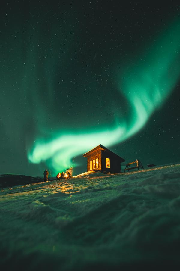 best lodge to see the northern lights in tromso