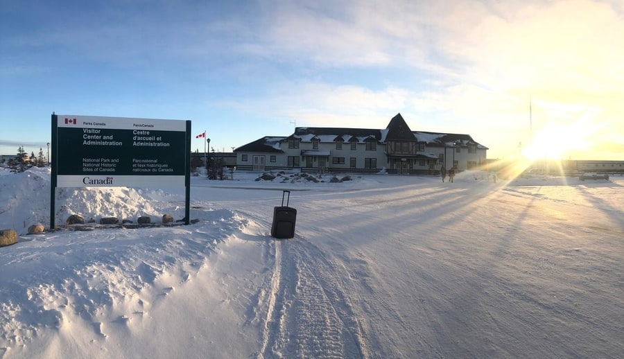 Best Northern Lights hotel in Churchill Canada