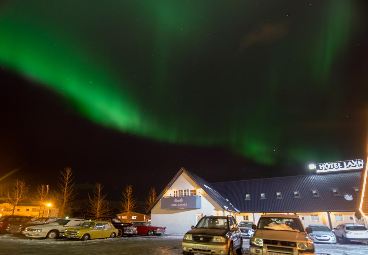 You can see Northern lights from Reykjavik