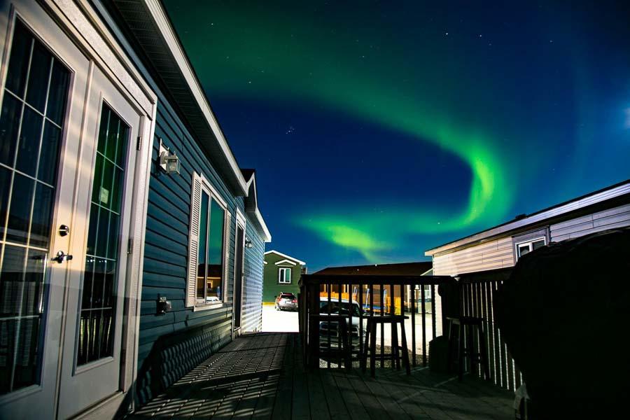Mejor lugar para ver Auroras boreales en territorios Noroeste Canada