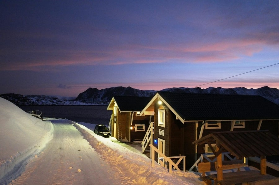 Best Northern Lights apartments in Norway Cape North