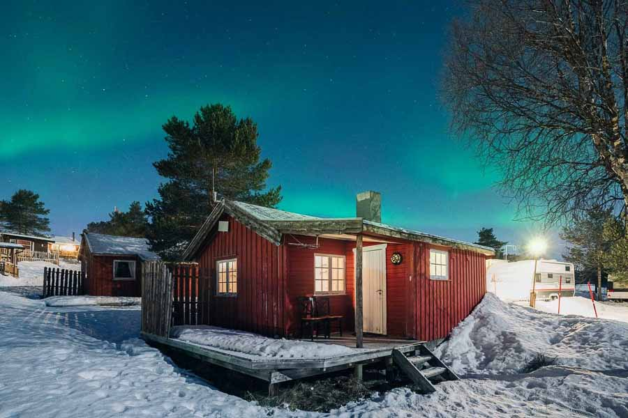 Cheapest Northern Lights hotel in Norway
