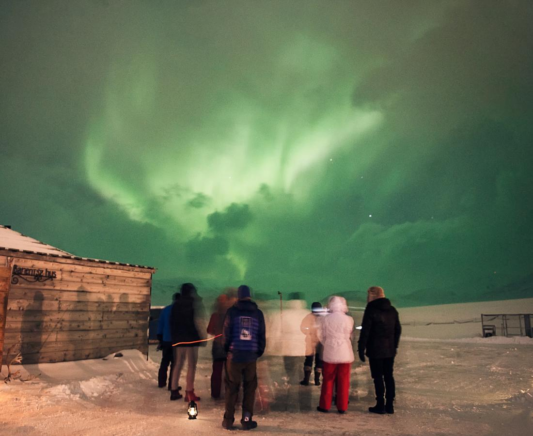 Best Northern lights hotel in Svalbard
