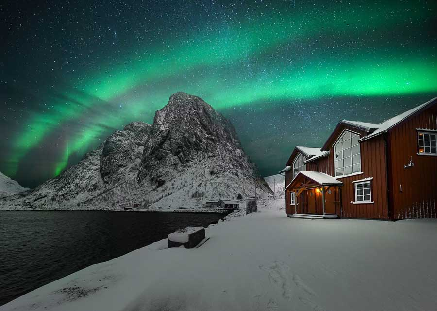 best time to see the northern lights in norway