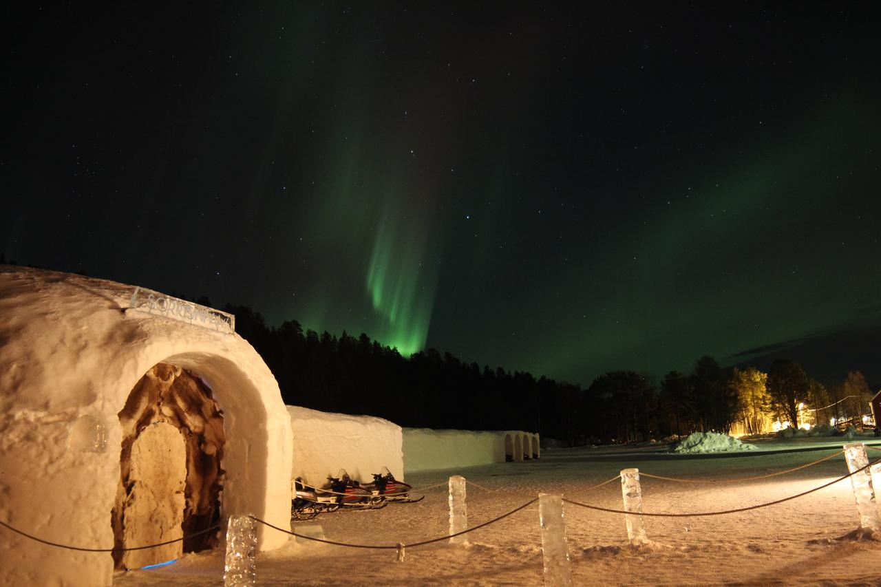Igloo Hotel in Norway to see the northern Lights