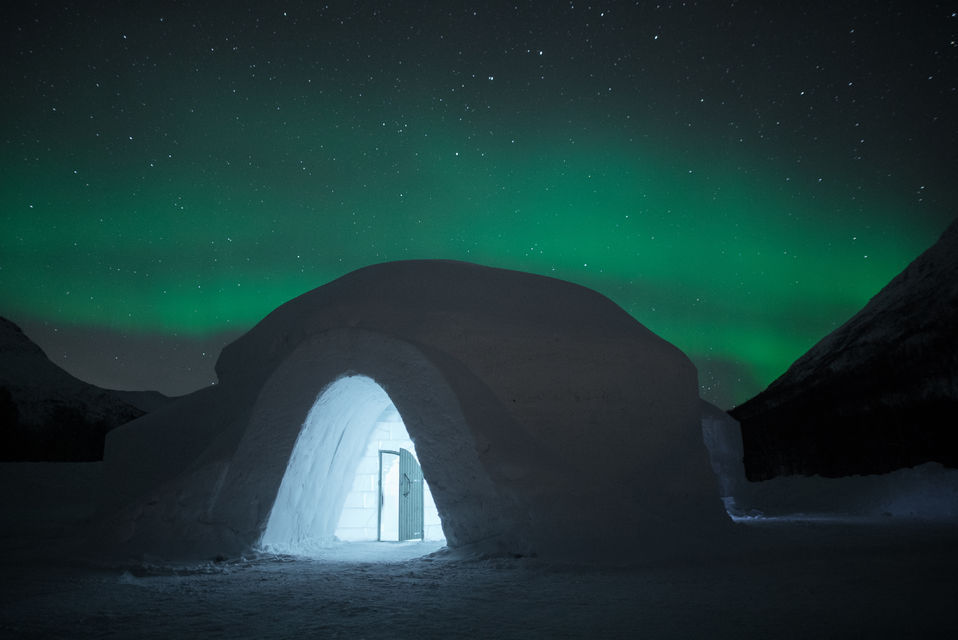 Ice Domes Hotel, an original place to stay in Tromso, Norway