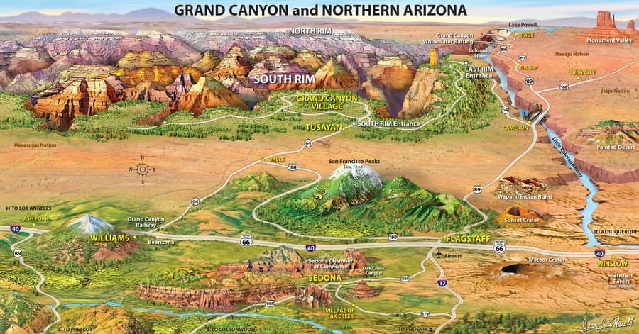 how to visit the grand canyon in one day