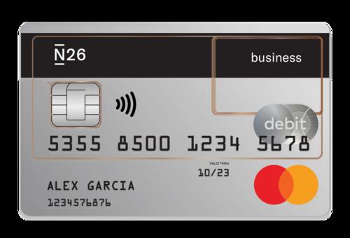 tarjeta n26 business mastercard