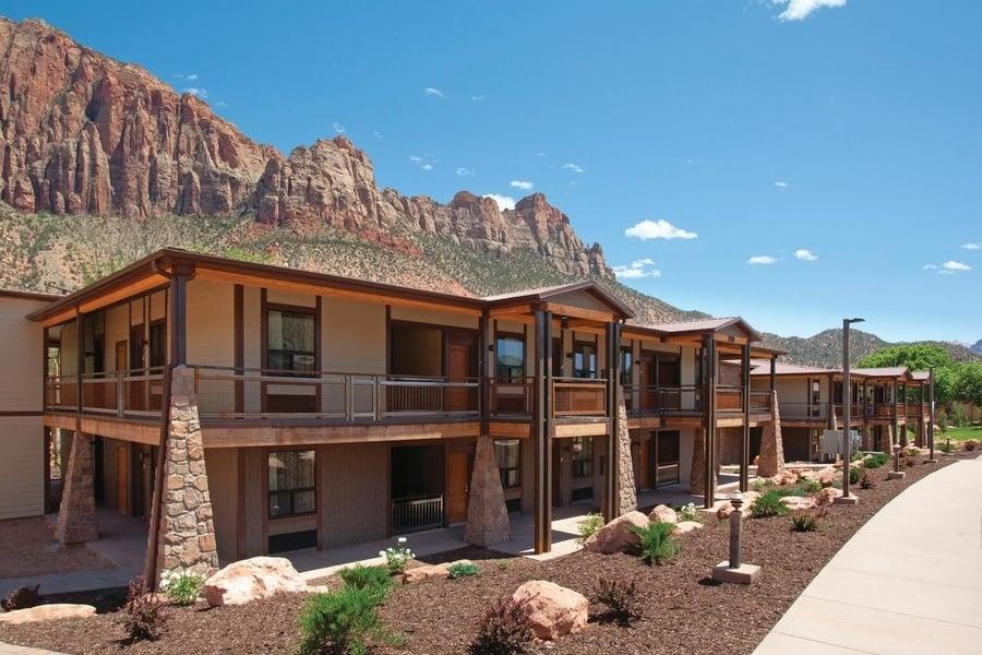 opciones de hospedaje en zion canyon mejores hoteles