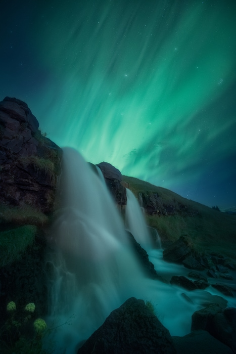 Best way to predict Northern lights in Iceland