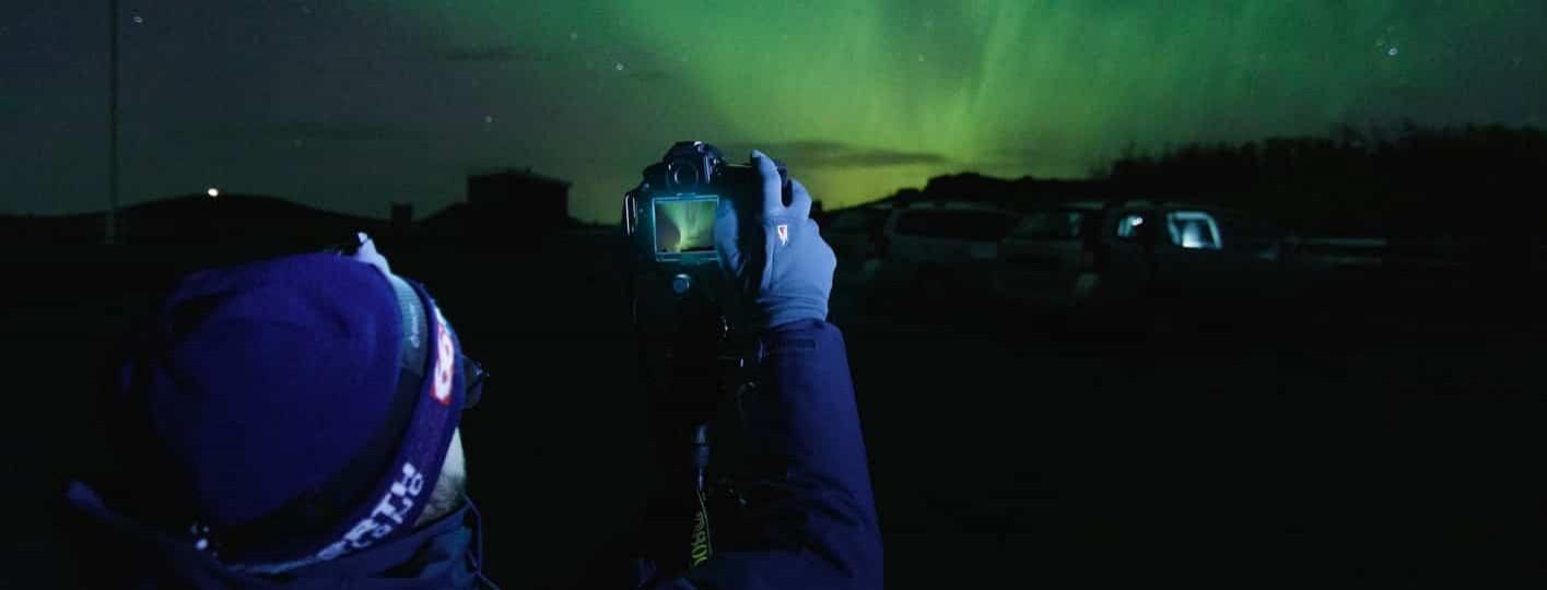 mejor camara y objetivo para fotografiar la aurora boreal