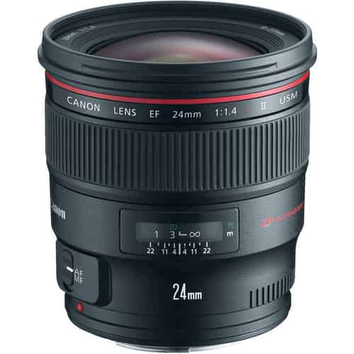 Canon prime lens for Milky Way photography