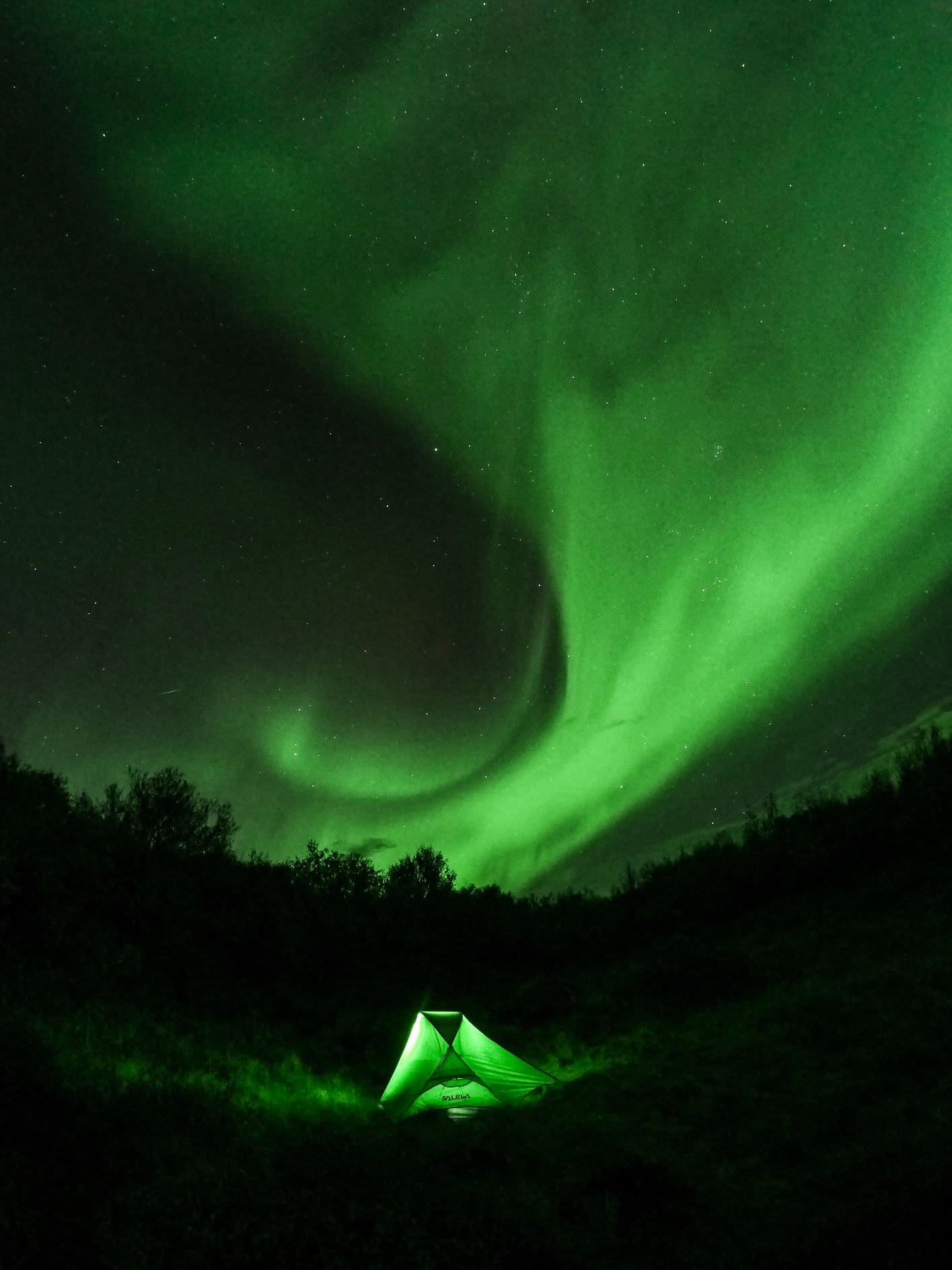 Best GoPro Northern Lights image