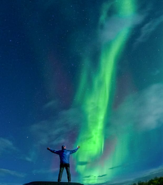 How to photograph Northern Lights with a GoPro