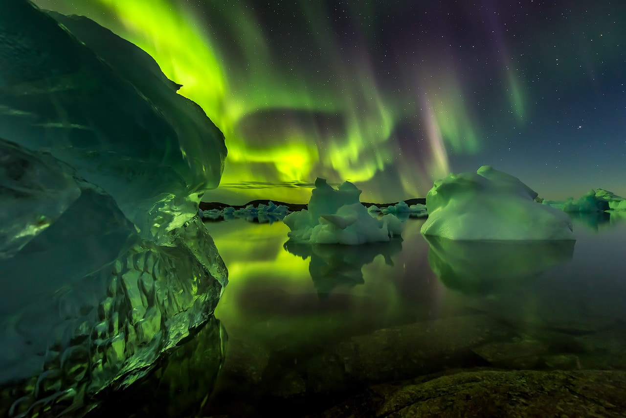 Best Northern lights images Arctic