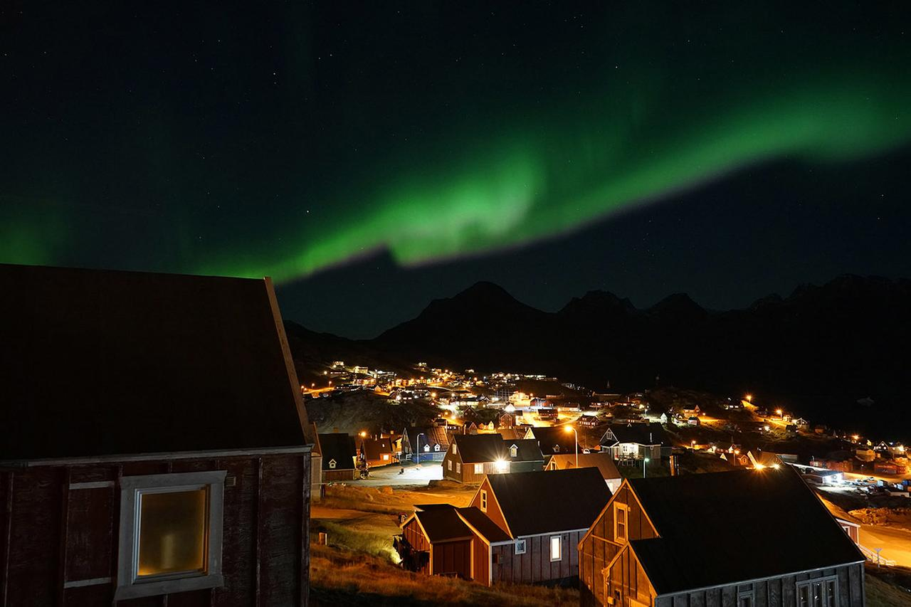 Best places to see Northern Lights Greenland