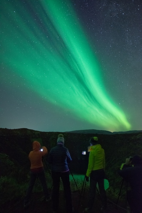 small group northern lights tour from tromso