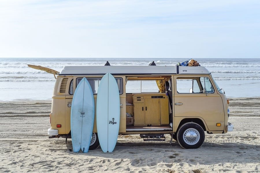 caravan rental in california best place