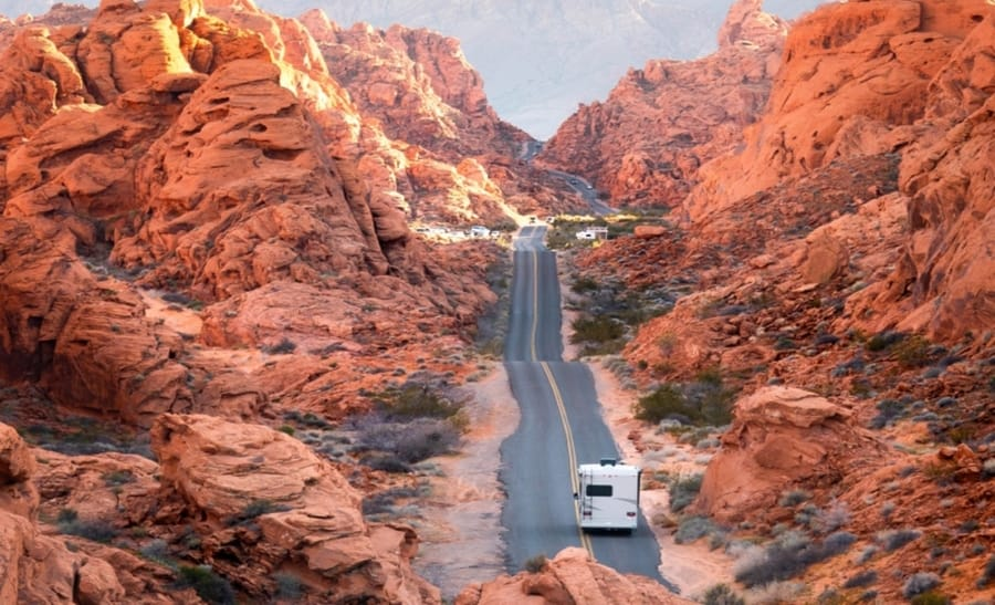 rv rental in las vegas, san francisco, los angeles, denver and other cities in the usa