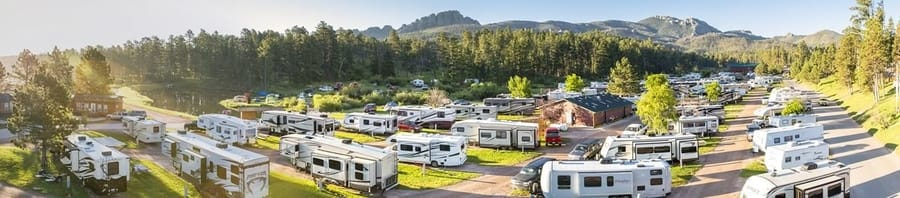 safe places where to spend the night with an RV