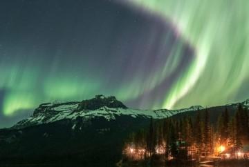Northern Lights Yoho Canada