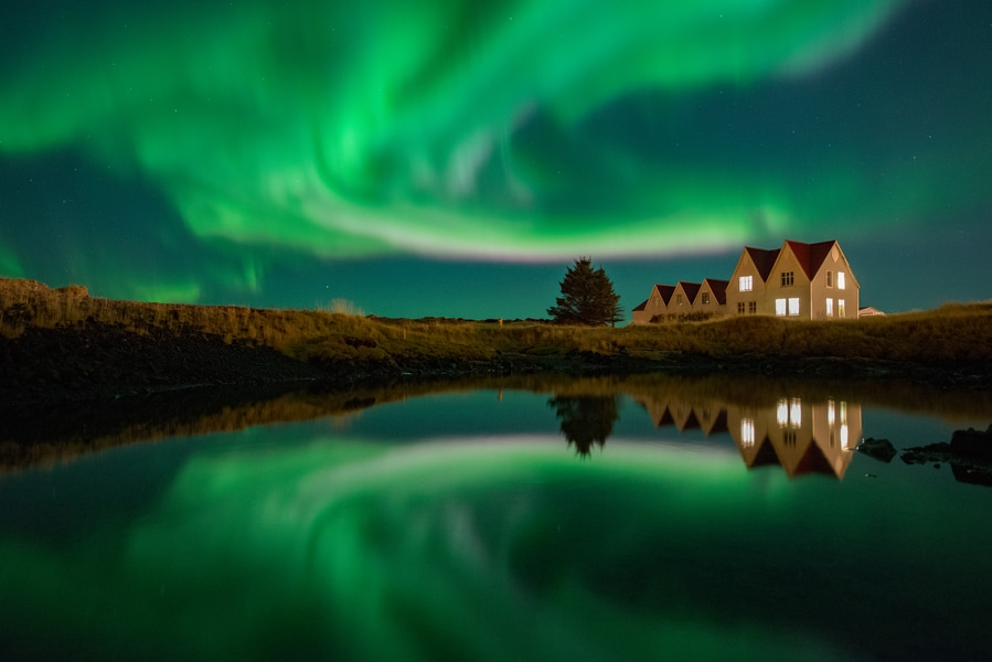 See the Northern Lights, one of the best things to do in Reykjavík, Iceland in winter