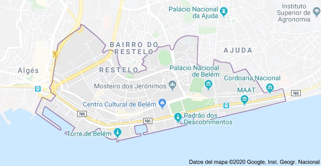 Lisbon Maps The Tourist Maps Of Lisbon To Plan Your Trip