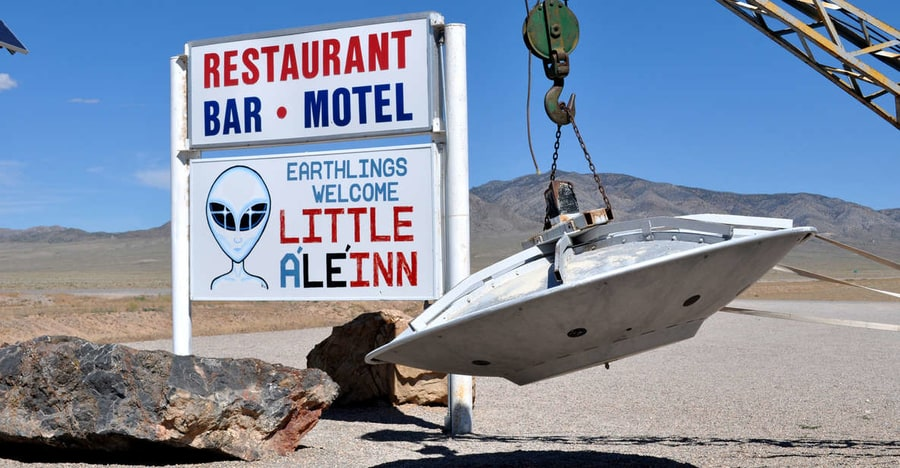 Excursion to Area 51 from Las Vegas