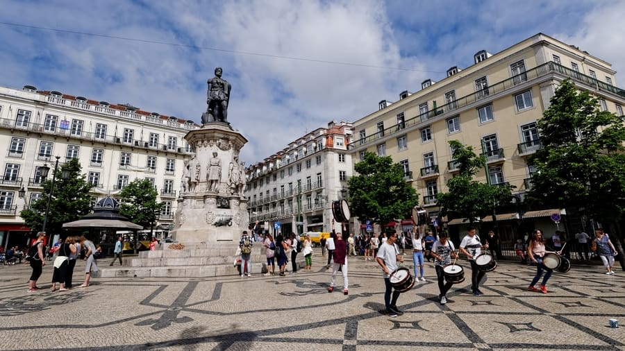 Chiado, a bohemian neighborhood in Lisbon