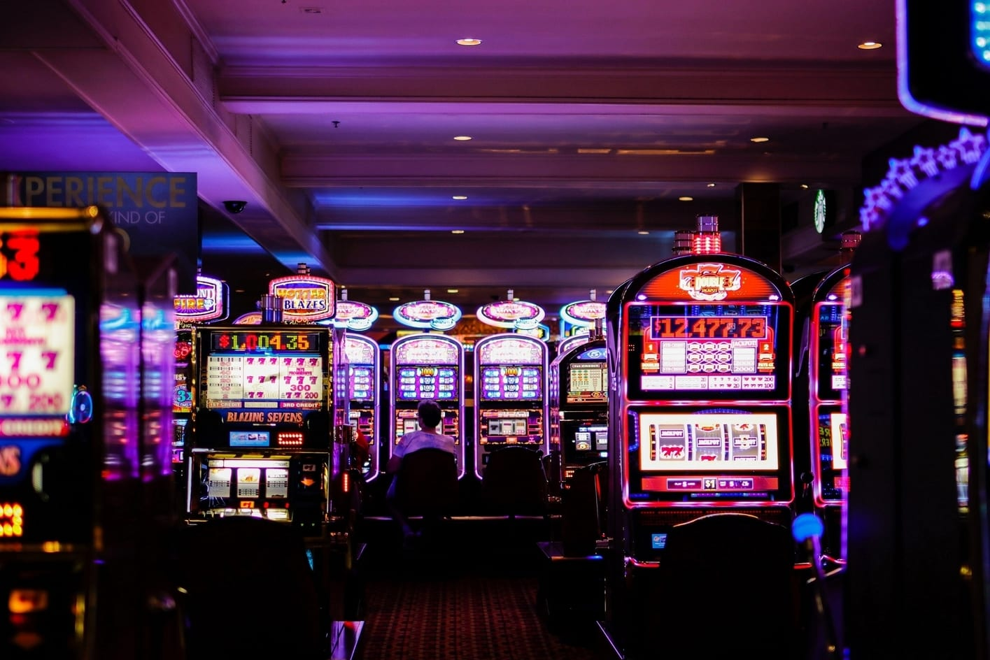 Gamble at a casino, best things to do in Las Vegas at night