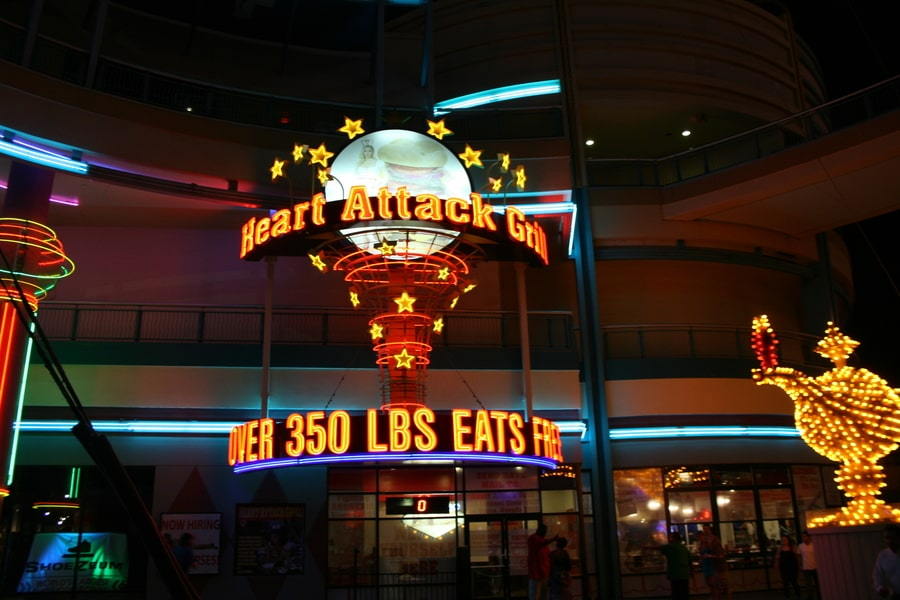 Heart Attack Grill, the most beastly food in Las Vegas