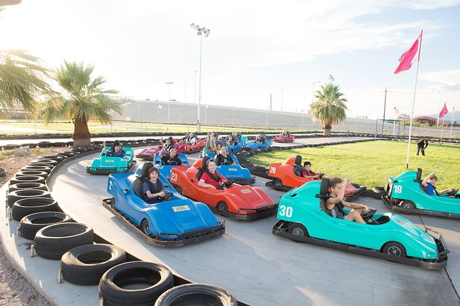 Las Vegas Mini Grand Prix, things to do in Las Vegas with kids