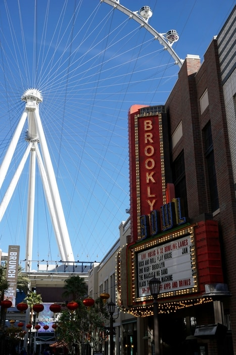 The Linq Promenade, an entertainment place to go in Las Vegas