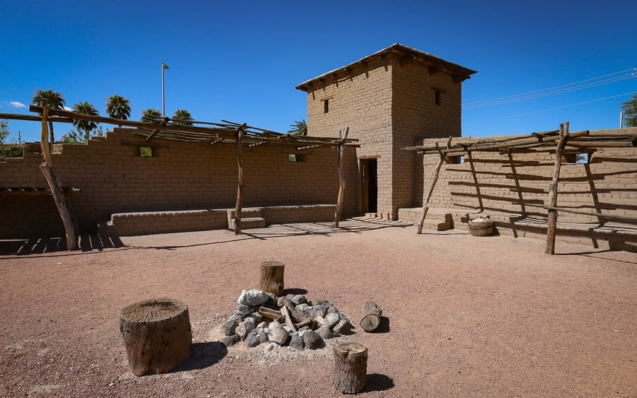 Old Las Vegas Mormon Fort, family things to do in downtown Las Vegas