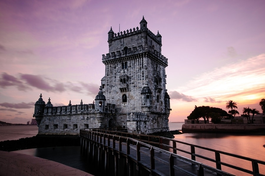 Belém Tower, one of the best attractions to visit in Lisbon