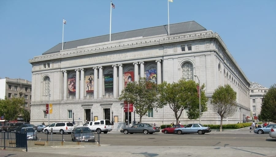 Asian Art Museum, a museum of Asian art to visit in San Francisco