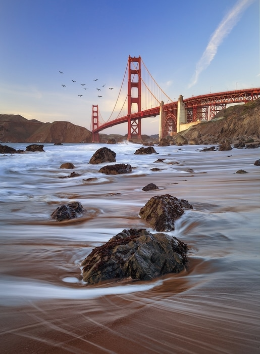 Baker Beach, a beach to visit in San Francisco