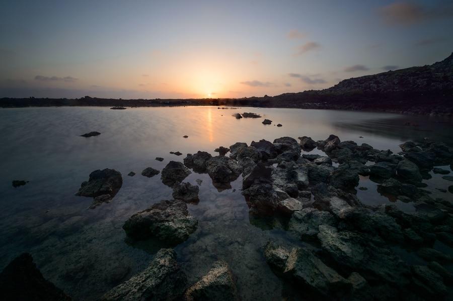 Caleton Blanco, one of the beaches to go in Lanzarote