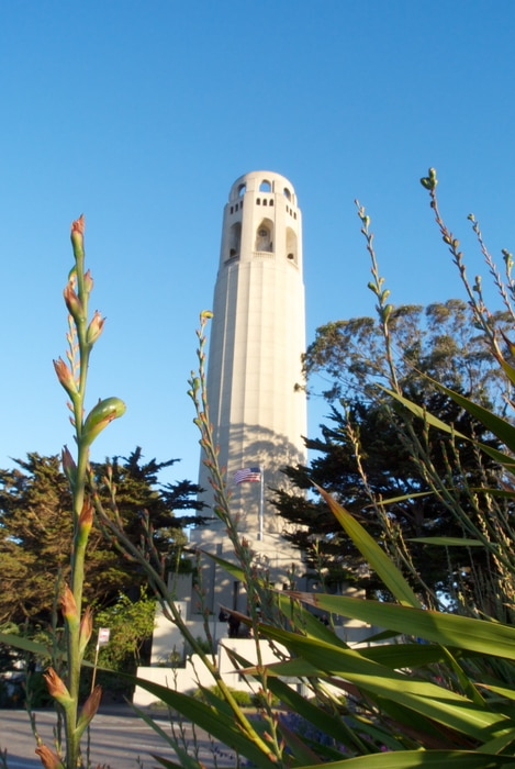 Coit Tower, something to visit in SF