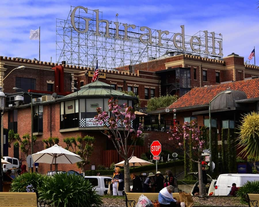 Ghirardelli Square, a place to visit in San Francisco, California