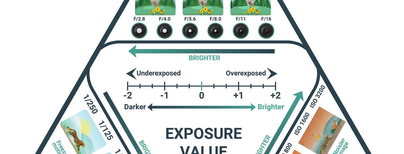 exposure triangle chart explained