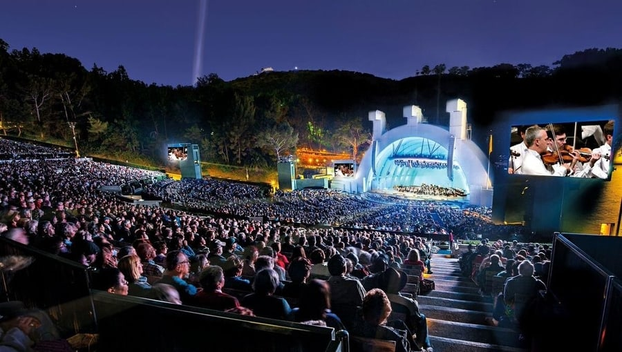 Hollywood Bowl, a place to enjoy shows in Los Angeles