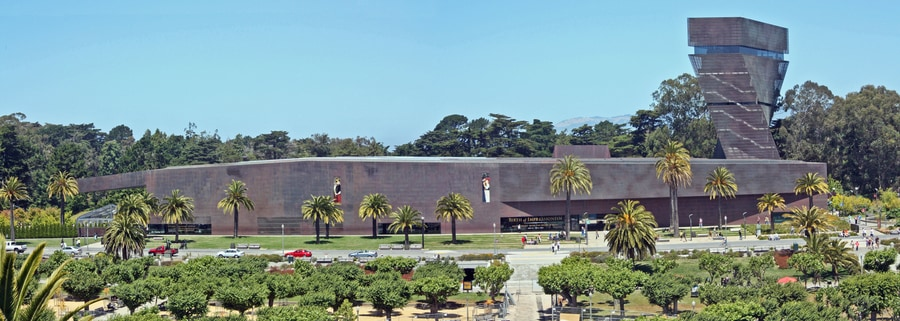 M. H. de Young Memorial Museum in San Francisco, California